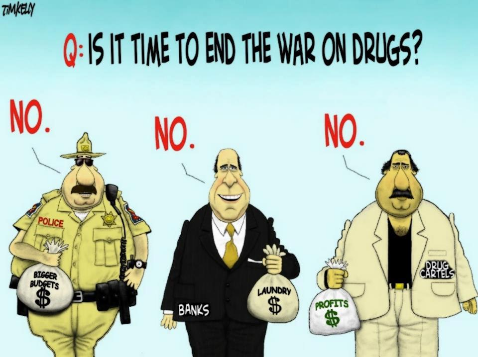 an analysis of the aftermath of our countrys war on drugs You don't have to sell or use drugs to be affected by the futile and expensive war our government has waged on them even if you do consider marijuana to be a drug.